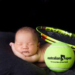 Sporting gear; rackets, basketballs, team jerseys