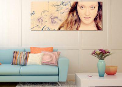 lounge abstract girl